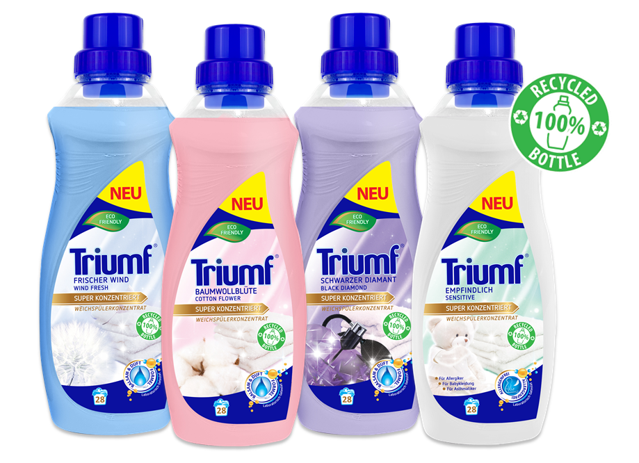Concentrated fabric softeners